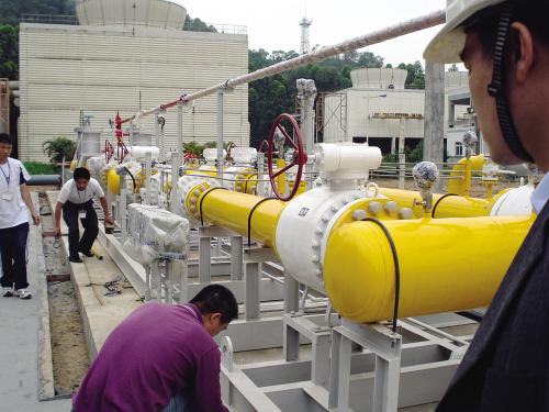 200mwdian厂ran气系统控制