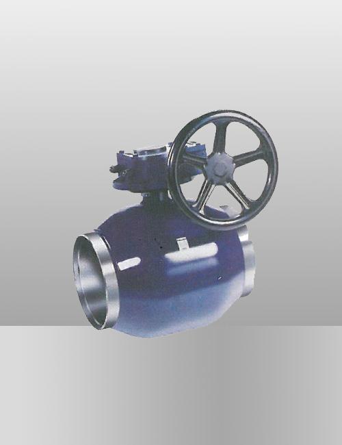 蜗轮缩jing焊接球阀-JTQ61F-25/40