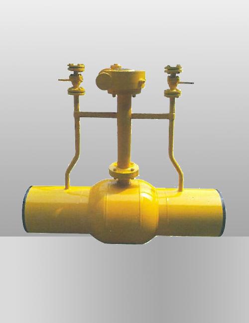 埋地焊接球阀MQ61F-2540