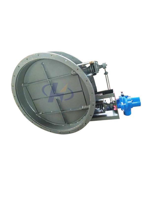 ZKVB-0.05型电动百叶圆式(窗式)阀