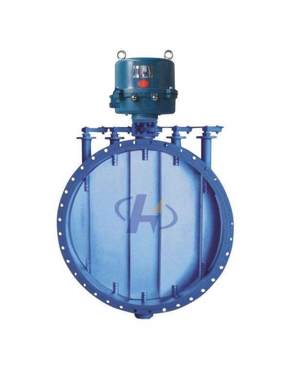 YBQD-0.5C、YBQQ-0.5多叶气流调节阀(圆形)