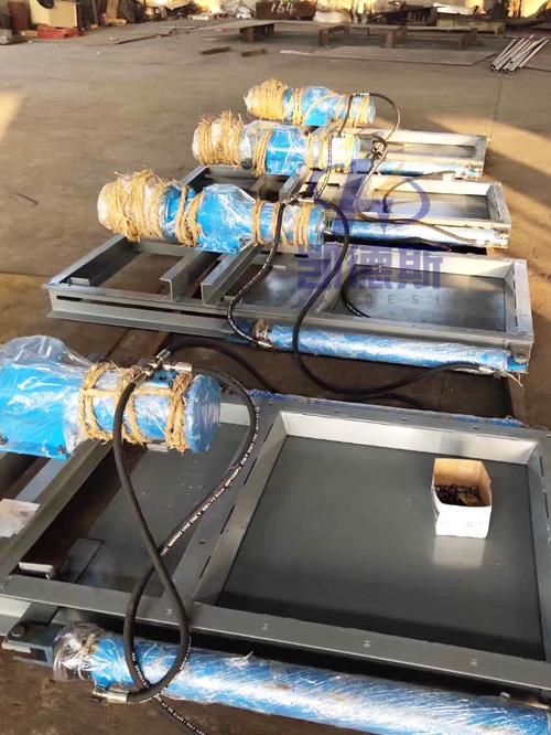 电控气动闸板门|气动平板闸阀