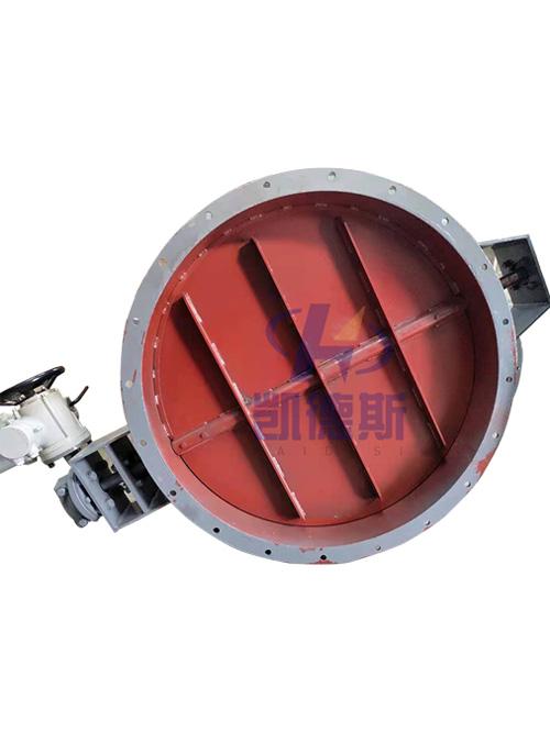 ZKJW-0.1电动蝶阀|高温烟道挡板|电动高温碟阀|电动硬密封蝶阀